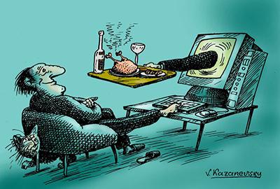 yemek-karikatur
